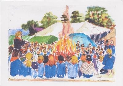 International Girlguiding Camp